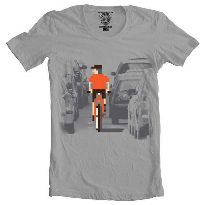 T Shirt Clockwork Gears Rush Hour Men Beim