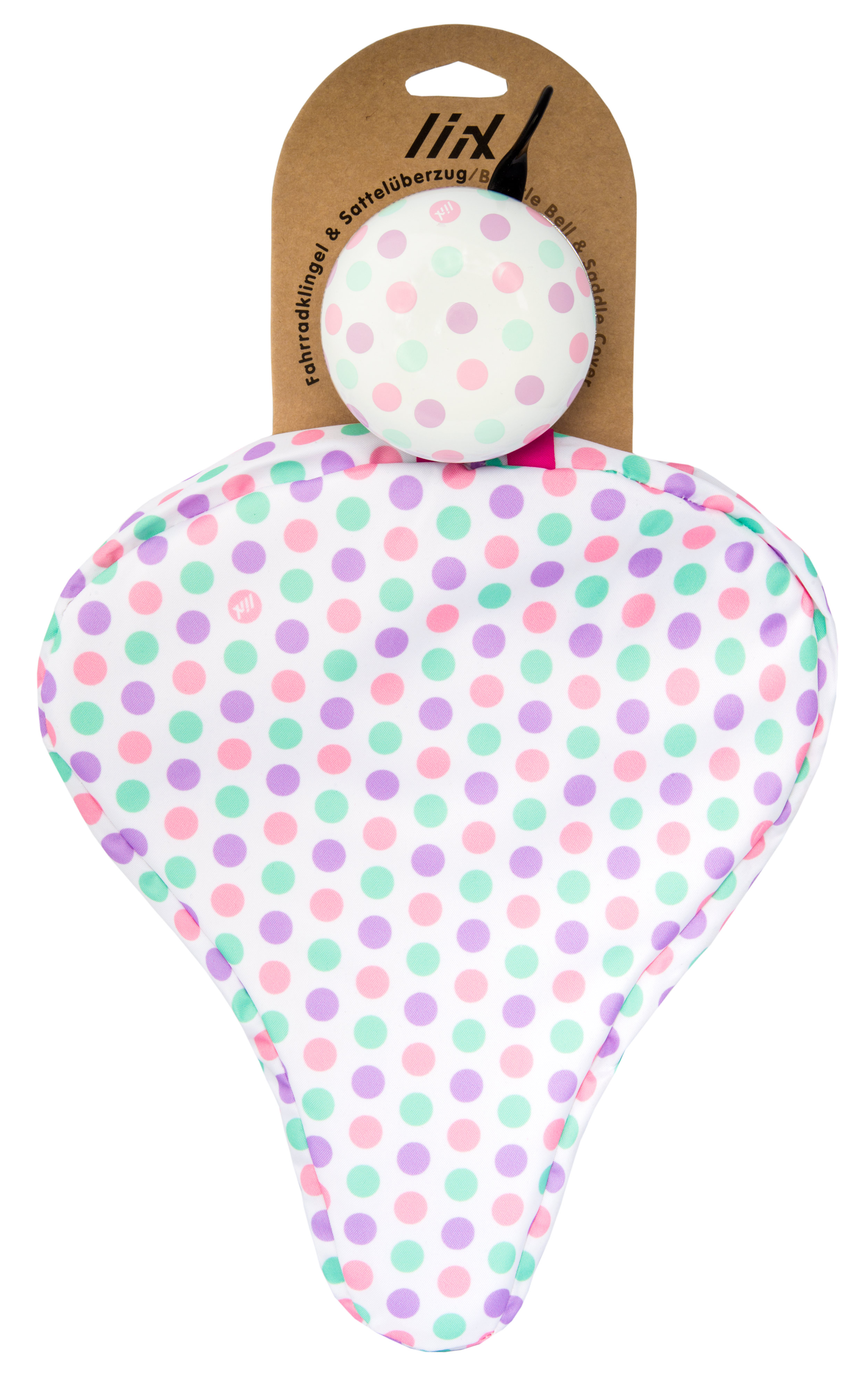 Liix Beauty Set Polka Big Dots Pastel Mix