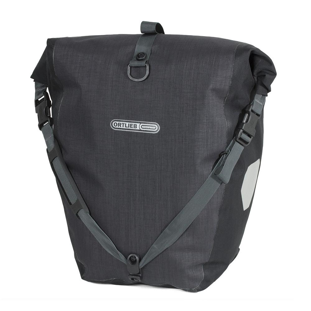 ortlieb fahrradtaschen back roller plus granit schwarz. Black Bedroom Furniture Sets. Home Design Ideas