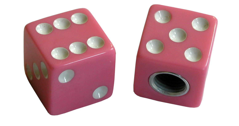 TrikTopz Ventilkappen Dice Pink