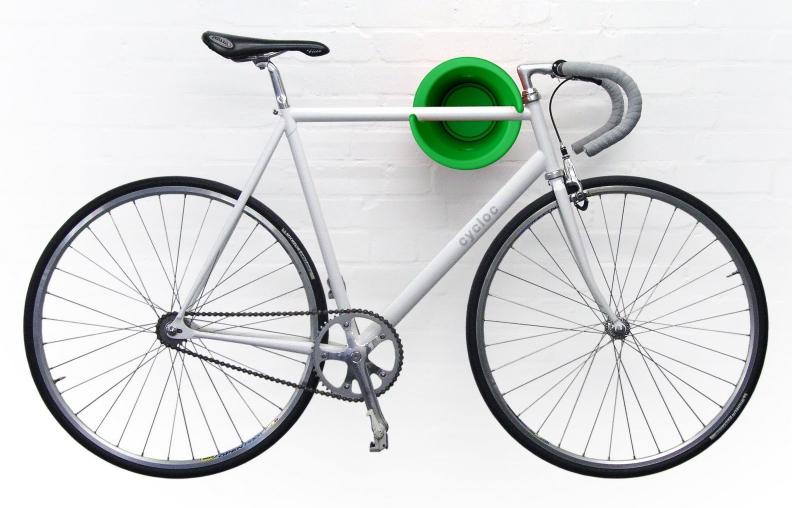 cycloc fahrrad wandhalter solo beim fahrradfachh ndler kaufen. Black Bedroom Furniture Sets. Home Design Ideas