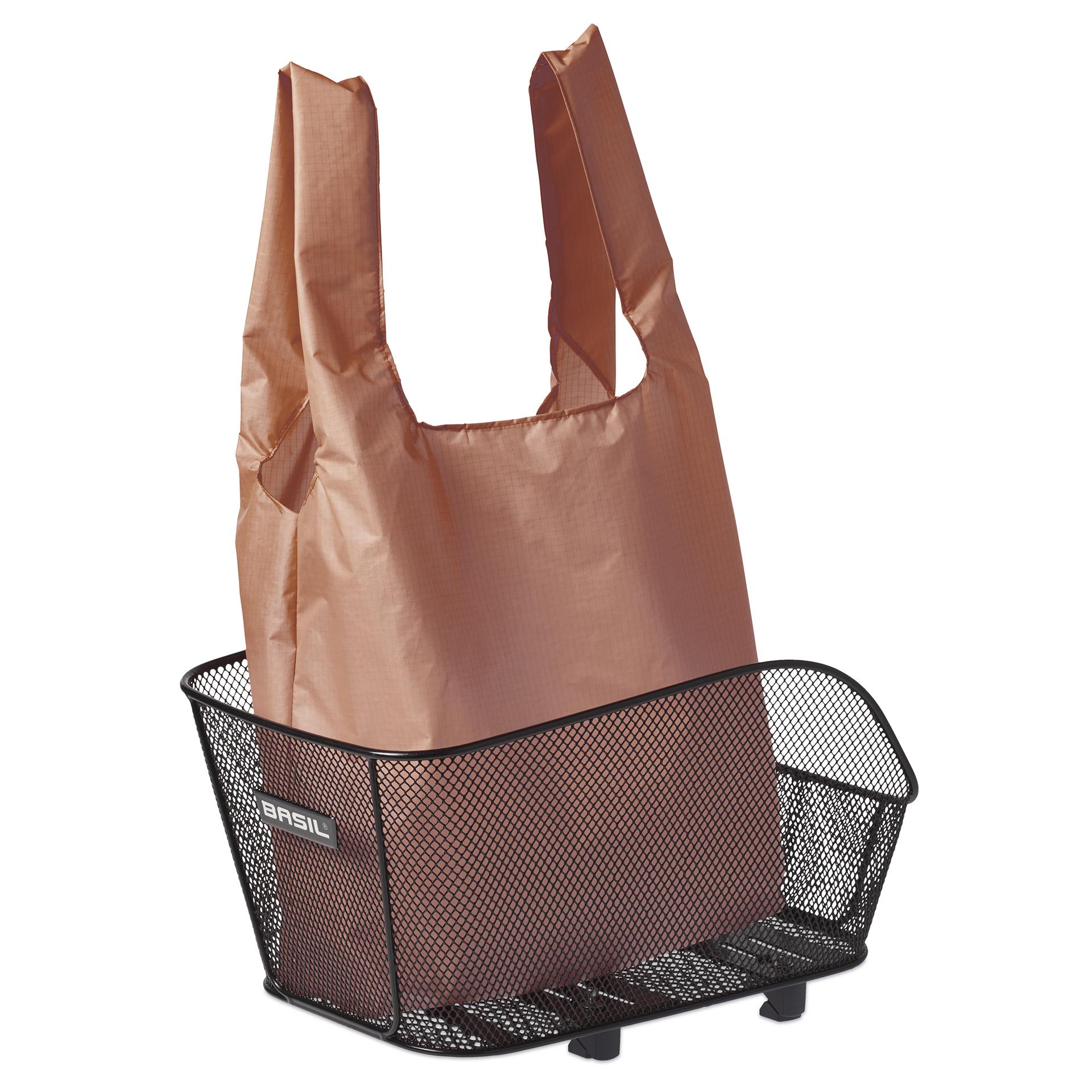 basil einkaufsbeutel f r metall fahrradkorb keep shopper. Black Bedroom Furniture Sets. Home Design Ideas