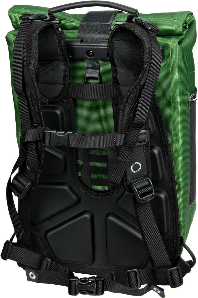 ortlieb fahrradtasche rucksack vario ql2 1 moosgr n beim fahrradfachh ndler online kaufen. Black Bedroom Furniture Sets. Home Design Ideas