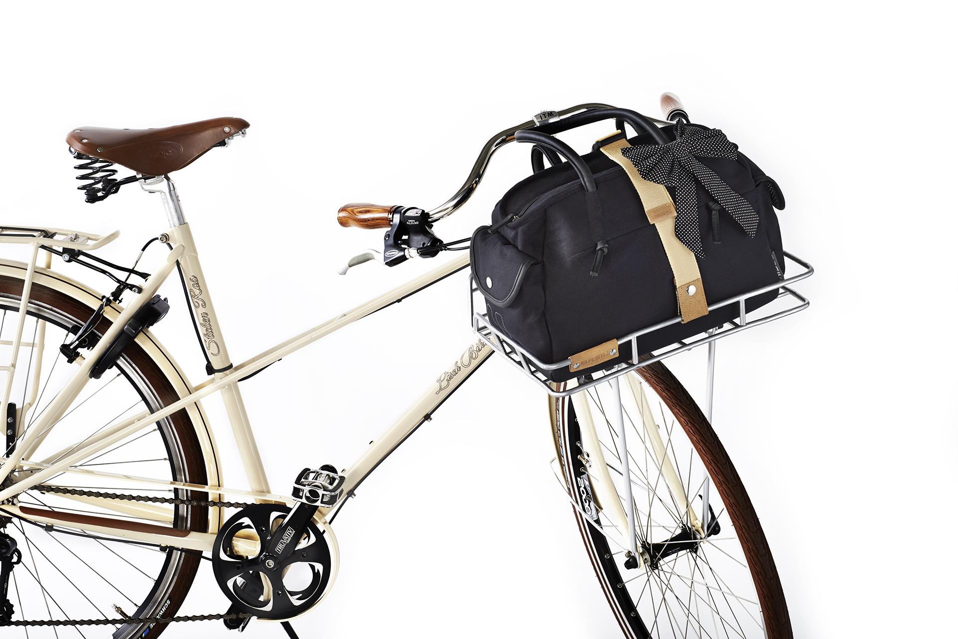 basil fahrrad umh ngetasche katharina schwarz beim fahrradfachh ndler online kaufen. Black Bedroom Furniture Sets. Home Design Ideas