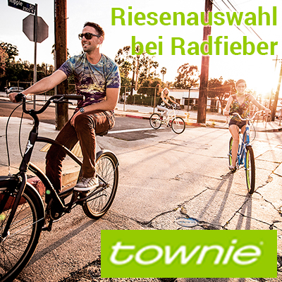Riesenauswahl an Electra Townies mit Flat Foot Technologie