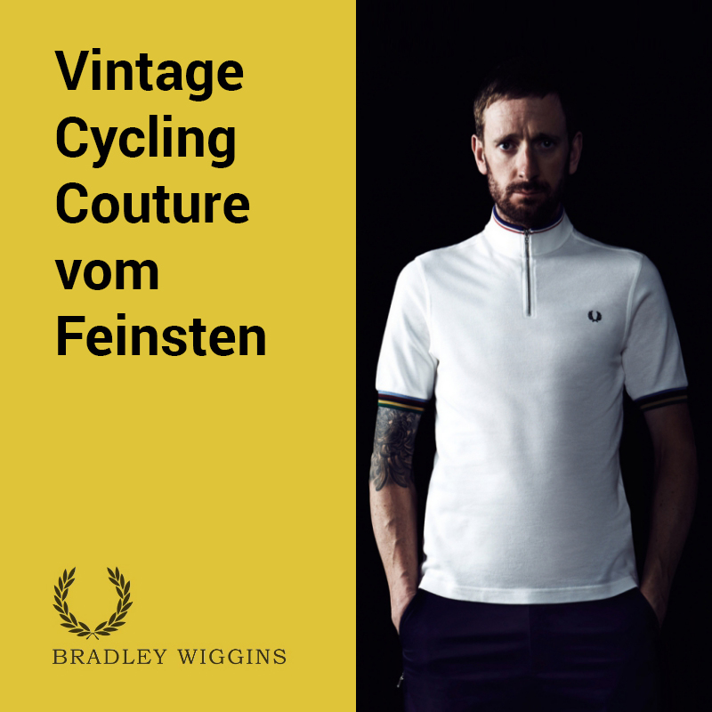 Fred Perry Vintage Cycling Couture