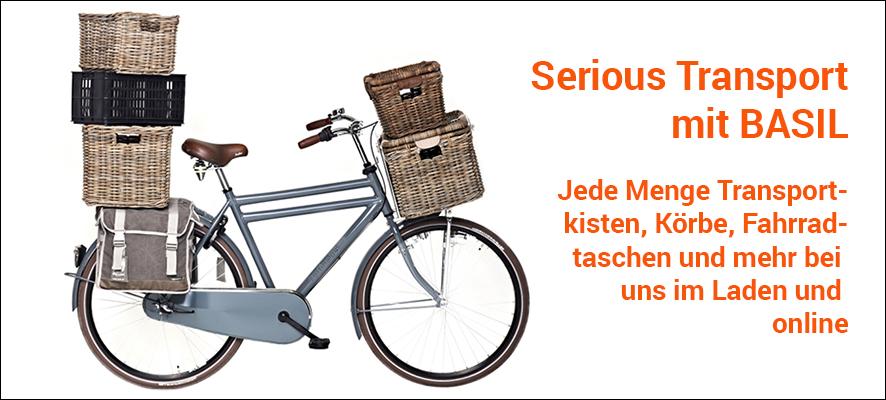 BASIL Fahrrad-Taschen, -Körbe und mehr