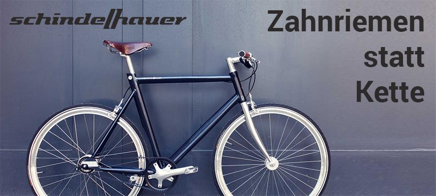 Schindelhauer Bikes mit Zahnriemenantrieb