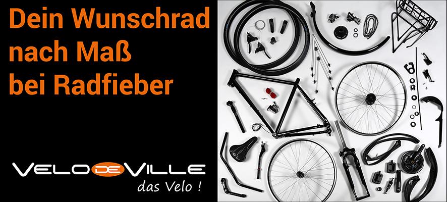 Maßgeschneiderte Bikes von Velo de Ville - Made in Germany
