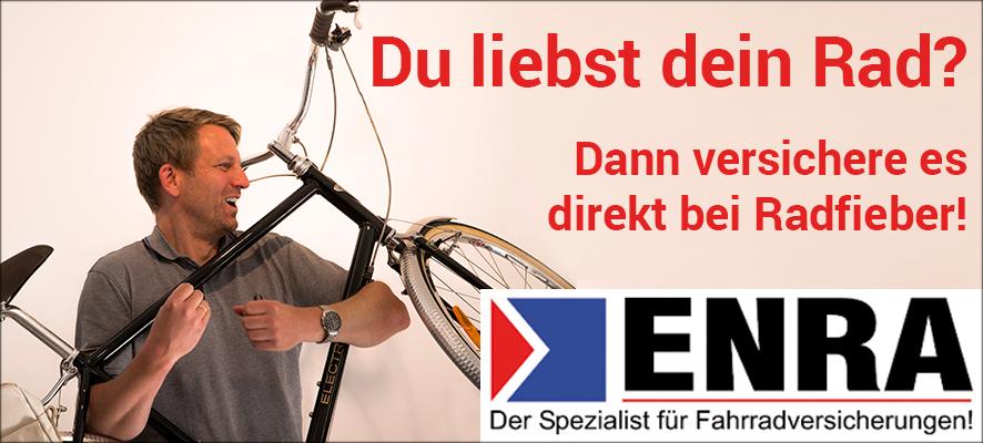 ENRA - der Spezialist für Fahrradversicherungen